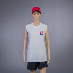T-Shirt ärmellos für Badmeisterin Vorderseite