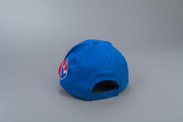 SBV Cap blau/rot mit Logo Rückseite