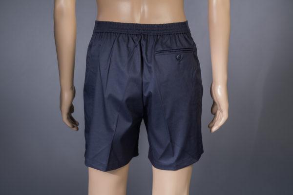 Shorts für Badmeister Trigema navy Rückseite