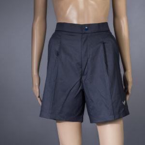 Shorts für Badmeisterin Trigema navy Vorderseite
