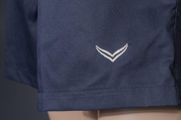 Shorts für Badmeisterin Trigema navy Logo