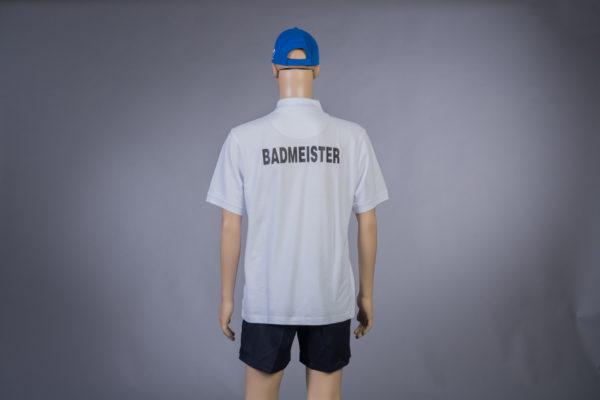 Poloshirt für Badmeister Rückseite