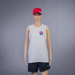 Trägershirt für Badmeisterin Vorderseite