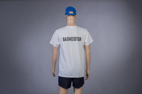 T-Shirt für Badmeister Rückseite