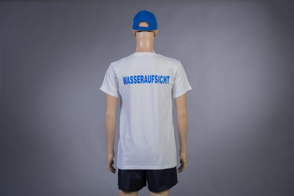 T-Shirt für Wasseraufsicht Rückseite